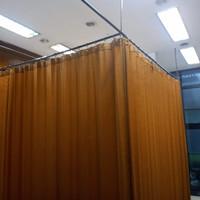gorden sekat ruangan- rumah sakit