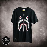 Kaos BAPE Shark Space Camo Black 100% ORIGINAL - S