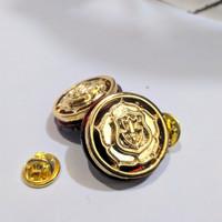 Monogram Kerah Satpam Gold