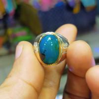 cincin batu bacan Doko dimin asli 100%asli asal maluku