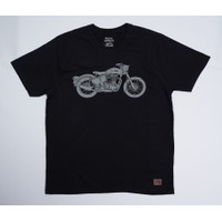 ROYAL ENFIELD T-SHIRT KAOS CLASSIC CREW BLACK ( ask for size! )