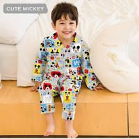 Lemonade Piyama Anak Tangan Panjang Mickey Mouse usia 3-15thn