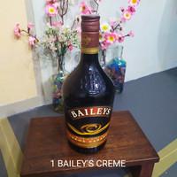 1 Botol bekas miras BAILEYS CREME CARAMEL