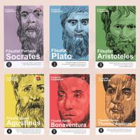 Paket Seri Filsafat Klasik; Socrates, Plato, Aristoteles, Aquinas, dll