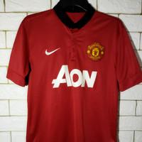 Jersey kaos baju bola asli original Manchester United MU home 2013