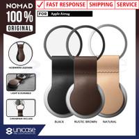 Case Apple AirTag Nomad Gantungan Kunci Loop Leather Premium Casing
