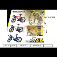 diecast sepeda balap roadbike miniatur/ sepeda miniatur