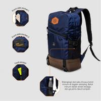 Tas Punggung Pria, Tas Sekolah Kuliah Traveling Tas Laptop Backpack