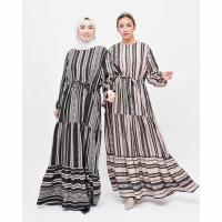 Femme Glamour Maxi Dress / Azura Ruffle Dress / Gamis Femme Glamour