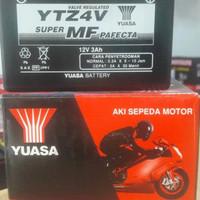 Aki Motor Yamaha New Vixion YTZ4V Yuasa aki kering MF
