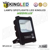 KINGLED Lampu Sorot/Floodlight 50WATT WARNA PUTIH