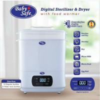 STE01 Baby Safe Digital Sterilizer & Dryer with Food Processor