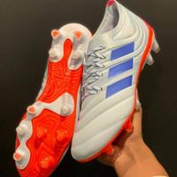 Sepatu Bola Adidas Copa 19.1 Sky Blue Orange