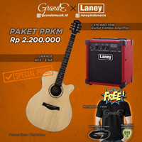 Promo paket PPKM Laney Amplifier & Grande Guitar Akustik