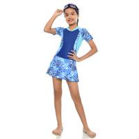 baju renang anak perempuan /Diving rok anak Tk untuk usia 4-9 tahun
