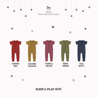 Little Palmerhaus - Sleep & Play Suit (Jumper Bayi) 0-12 Bulan 2.B