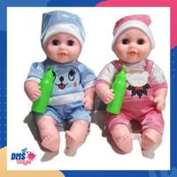 DMStoys Boneka Bayi Nangis Crying Doll Bersuara B760