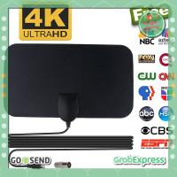 Antena Digital Portable - Antena TV Digital DVB-T2 4K High Gain 25dB