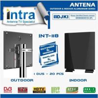 Intra Antena Digital TV LED LCD Antena Indoor & Outdoor INT 118 INT118