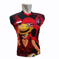 (BISA COD) baju volly kaos olahraga jersey proliga printing