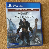 USED PS4 Game - Assassins Creed AC Valhalla Reg 3 Asia