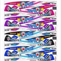 Striping sticker variasi Mio sporty/smile doraemon