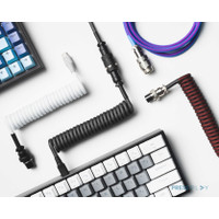 Type C Coiled Cable Mechanical Keyboard Aviator by Press Play