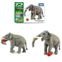 AS-33 Indian Elephant Takara Tomy Ania Miniatur Animal Hewan Tomica