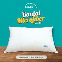 CUSTOM Bantal JUMBO Micro/Bulu Angsa Sintetis