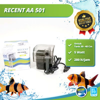 Hanging Filter Gantung Aquarium Aquascape Box Filter RECENT AA 501