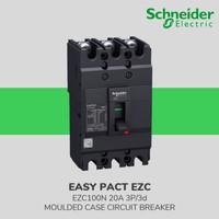 EZC100N3020 MCCB EASYPACT SCHNEIDER