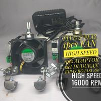Kipas Aquascape High speed 16000 RPM 6X6Cm / Kipas aQuarium Air Laut