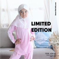 Pakaian Tidur Anak Perempuan Baju Santai Anak Daily Wear Anak Cewek