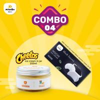 Combo 4 - Mix Mochi Ice Cream + Ice Cream - Black Sesame + Chetos