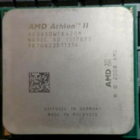 Prosesor AMD AM3 Athlon II X4 650 3.2GHz Quad Cores X4-650