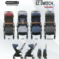 Stroller Kereta Bayi H7Skb1400 Elle Ez Switch S 523 Rs Llaban46