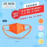 Life Mask Ac 37 mask basic anak