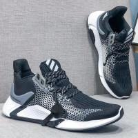 Sepatu Adidas AlphaBounce Instinct Core Black Cloud White Grey CG5595