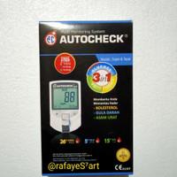 Alat Auto check GCU 3 in 1 ( Gula darah, Cholesterol,Asam urat )