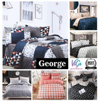 Vige Bed Cover Set Katun Motif Perca George Size Single   Bad Cover