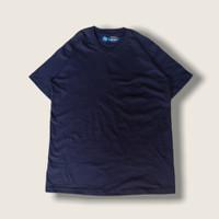 T Shirt Supima Cotton Navy / Biru Dongker kaos premium anti bakteri