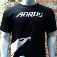 Kaos Distro Gamer Gigabyte Aorus (Kode AR001)