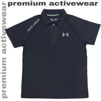 Kaos Kerah Polo Shirt Lengan Pendek Sport Olahraga 293H Dri Fit Import