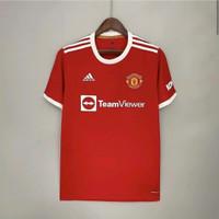Jersey Kaos Baju Bola MU Mancester United Home New XXL 2XL 2021 2022