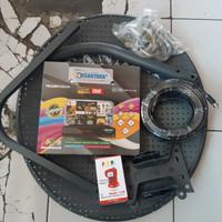 Parabola mini Receiver Nusantara HD Lengkap Antena 45 cm