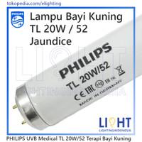 Lampu TL Bayi Kuning Philips Bluelight 20W/52