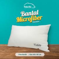 CUSTOM Bantal HOTEL isi Micro/Bulu Angsa Sintetis