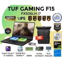 ASUS TUF GAMING F15 FX506LH i7 15.6 FHD 144HZ 512GB GTX1650 4GB W10