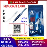 Arctic Cooling MX-4 MX4 Thermal Compound Paste 4 Gram Thermal Paste - KEMASAN 2020