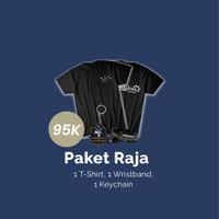[Paket Raja ] T-Shirt #002; Wristband